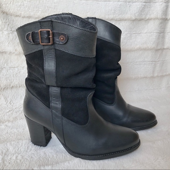 Levi's Sancho Heeled Boots - size 8